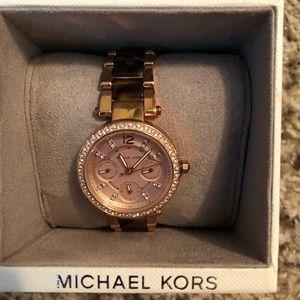 c14f5d87f81e Michael Kors Jewelry - Michael Kors Rose Gold watch (MK-5841)